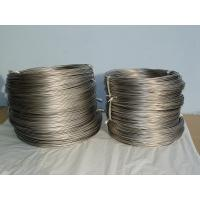 Anti Corrosion Titanium Wires , Polished / Pickled Titanium Round Wire Manufactures
