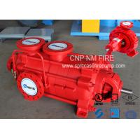 Firefighting Electric Motor Driven Pump 750GPM@90m Ductile Cast Iron Materials Manufactures