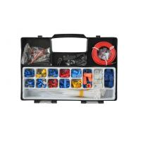 China 208pcs Auto Emergency Tool Kit , Solder less Electrical Repair Kit on sale