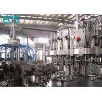 SUS304 Glass Bottle Carbonated Beverage Filling Machine With 250ML And Crown Cap 10000BPH Manufactures