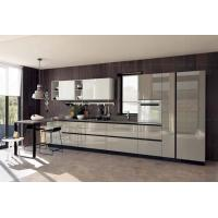 Kitchen Cooking Full Kitchen Cabinet Set Acrylic / Quartz Benchtop Material Manufactures
