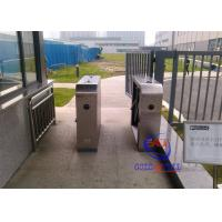 China Stainless Steel IP54 Fingerprint Tripod Turnstile Mechanism for Access Controller with Barcode / IC Card on sale