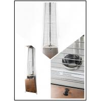 Restaurant Floor Standing Outdoor Gas Patio Heater 450 - 870g / Hour Flux Manufactures