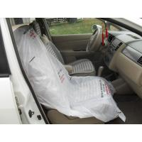LDPE Steering Wheel Disposable Car Seat Covers / Car Foot Mat / Gear Cover Manufactures