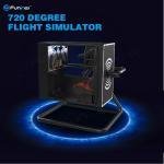 720° Virtual Reality Flight Simulator With Motion Control / Full-Digital Servo System Manufactures