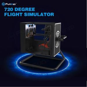 China 720° Virtual Reality Flight Simulator With Motion Control / Full-Digital Servo System on sale