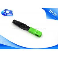 FTTB FTTX Network Fiber Optic Fast Connector SC APC Insertion Loss 0.3dB Manufactures
