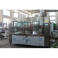 8000BPH Big Capacity Juice Bottling Machine Glass And Plastic Bottle Filling And Packing Manufactures