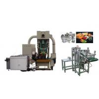 China Disposable Aluminium Foil Container Making Machine / Lid Making Machine automatically on sale