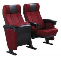 China Moveable Armrest Audience Seating Chairs Flame Retardant Fabric ISO on sale
