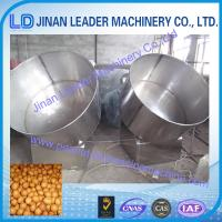 Peanut Sugar Coating Machine small scale chocolate suger snack food Manufactures