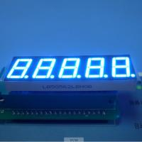 "Ultra Blue 5 Digit 7 Segment Display Eco Friendly Custom 100 mcd 0.56"" Manufactures"