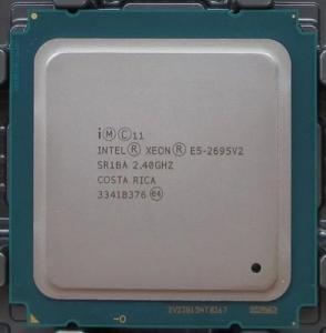 CPU Intel Xeon E5 2600 V2 2.40GHz / Intel 12 Core Xeon E5 - 2695 V2 30MB SR1BA Manufactures