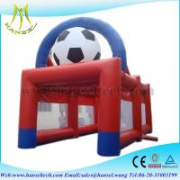 China Hansel Inflatable  Sports Games 0.55 PVC Tarpaulin Safe Inflatable Sport Playground on sale