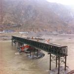 Easy Assemble Floating Pontoon Bridge Emergency Use Temporary Steel Bridge Manufactures