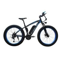 China 26 Inch Fat Tire Electric Bike , Electric Assist Bicycle Less Laborious on sale