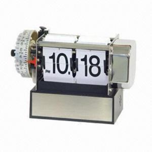 Telescopic Desk Flip Alarm Clock with BB Alarm Manufactures