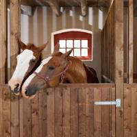 China Internal Portable Horse Stall Panels Easy Installation Customized Brand on sale