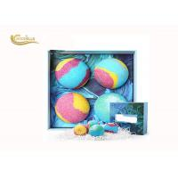China Essential Oil Luxury Bath Bomb Gift Set Organic Vegan Private Label on sale