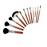 Sparking with mirror make up brush set Manufactures