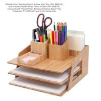 China high quality bamboo pencil holder using pen holder office or home on sale