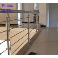 iron fence with guardrail prices / stainless steel balcony railing Manufactures