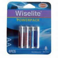 Quality 4B Power Pack Alkaline LR6 AA Batteries with 1.5V Nominal Voltage for sale