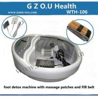 foot spa ion detox machine with T.E.N.S patches improves healthy cell regeneration Manufactures