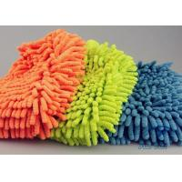 China Easy Auto Care Microfiber Ultra Detersive Sponge Compounded Chenille Car Wash Glove on sale