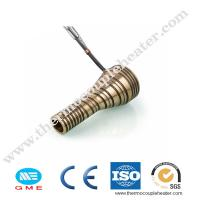 China Hot Runner Brass Tube Electric Coil Heaters with Thermocouple on sale