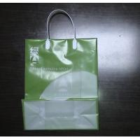 LDPE Customer Logo or Design Printing PP Reusable Grocery Shopping Bags with Patch Handle Manufactures