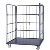 Steel Roll Container-Folding -Warehouse-Storage-Rolling cage container-Trolley. Manufactures