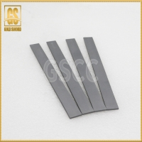 China HRA90 Gray Tungsten Carbide Flat Strips Stock on sale
