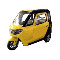 Silent Motor Electric Passenger Tricycle 60V 1000W 45Ah Battery Long Travel Range Manufactures