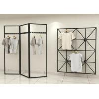 Fashionable Style Clothing Display Rack / Metal Retail Clothes Display Stands Manufactures