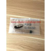 Zipper Locks Resealable Cigar Humidor Bags With Slider LDPE Laminated White Color Manufactures