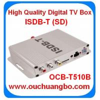 Ouchuangbo in stock ISDB-T Car TV Receiver LCD TV /TFT LCD digital TV Box very cheaper only 35$ free shipping