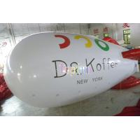 China 6m Long 0.20mm PVC / Inflatable Zepplin Inflatable Helium Blimp Inflatable Helium Balloon on sale