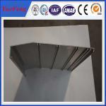 aluminium framing material manufacturer/ 6063 aluminium alloy profile for working flatform Manufactures