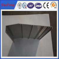 aluminium framing material manufacturer/ 6063 aluminium alloy profile for working flatform Manufactures