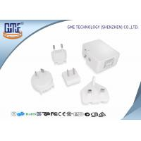 4.8A 5V Wall Mount Power Plug Adapter Charger with Dual USB Charging Ports Manufactures