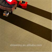 Quality Free sample plain Nylon carpet tile for workplace for sale