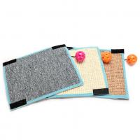 China Scratching Board Mat Pad Cat Sisal Loop Carpet Scratcher Indoor Home Furniture Table Chair Sofa Legs Protector Pet Toy on sale