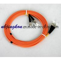 Buy cheap Fiber Optic Patch Cord-ST/UPC OM2 Duplex Jumper from wholesalers