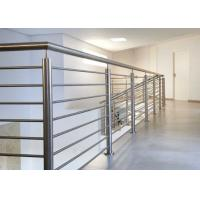China Easy Installation Stainless Steel Railing With Brushed / Mirror Surface Treatments on sale