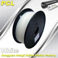 PCL Low Temperature 3D Filament,1.75 /3.0mm ,Widely Used In Food And Medical Fields. Manufactures