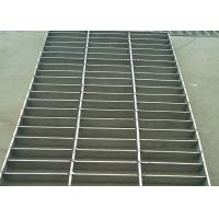 Stainless Steel Heavy Duty Steel Grating , Round Bar 25 X 5 SS Floor Grating Manufactures