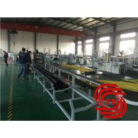HDPE Pipe Extrusion Line / Extruder Machine Vacuum Forming With 40mm-110mm Dia Manufactures
