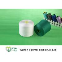 China Good Evenness Dyed 100 Polyester Yarn Ring Spun with Staple Fiber on sale