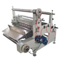 automatic roll to sheet cutting machine with laminating function Manufactures